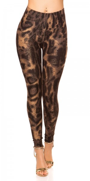 Sexy  Leggings mit Print