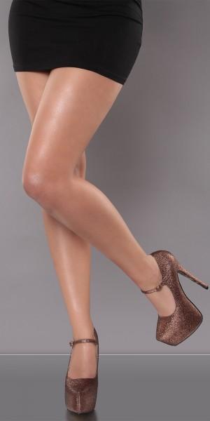 Sexy KouCla Plateau-High-Heels mit Riemchen