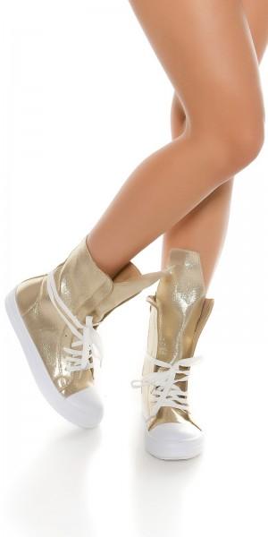 Trendy Shiny Sneakers
