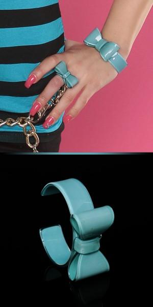 Trendy Ring mit Schleife