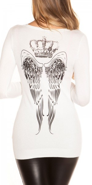 Sexy KouCla Longpulli mit Backprint