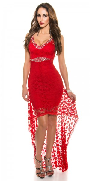 Red-Carpet-look!Sexy Koucla Kleid mit Schleppe